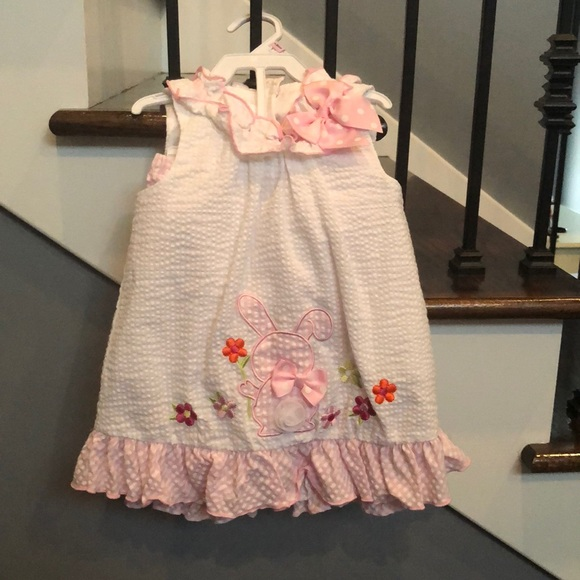 Bonnie Baby Other - Seersucker two piece toddler outfit